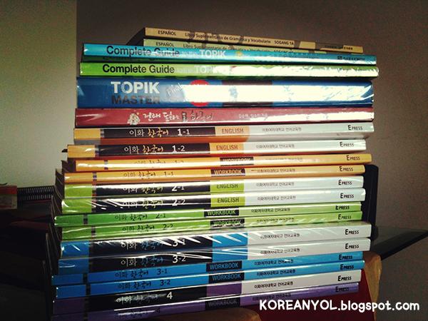 COLECCION DE LIBROS DE COREANO KOREANYOL (1)